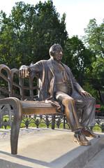 Одесса. Памятник Леониду Утёсову на Дерибасовской