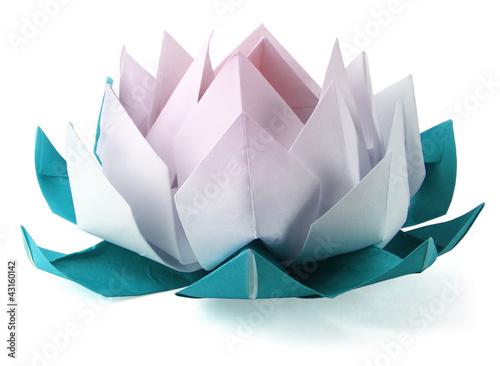 Origami lotus - 43160142
