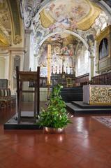 Cathedral. Bobbio. Emilia-Romagna. Italy.