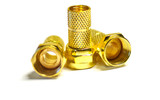 Golden F connectors