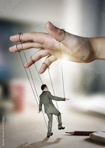 Businessman On Strings