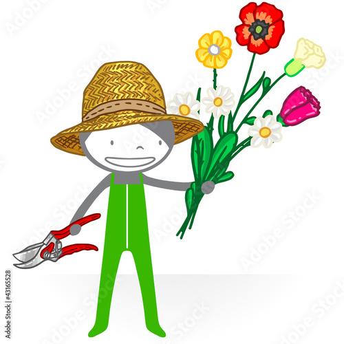 jardinier 1 de bank bank fichier vectoriel libre de droits 43165528 sur. Black Bedroom Furniture Sets. Home Design Ideas