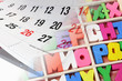 Calendar and Alphabets
