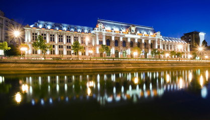 Bucharest at night