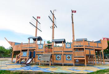 Playground without children