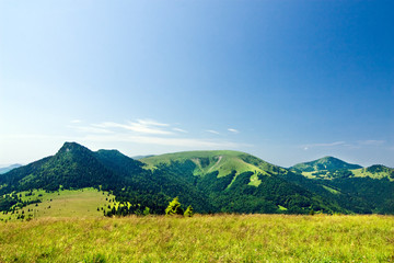 Mountain ridge-Nat. park Greater Fatra-Slovakia/Europe