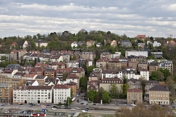 Cityscape of Stuttgart, Germany