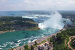 Niagara Falls. View on Horseshoe Waterfall from Canadian Side
