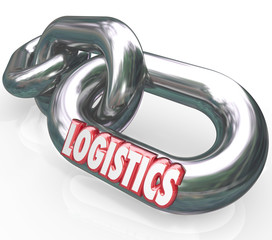 Logistics Word on Chain Links Connected System