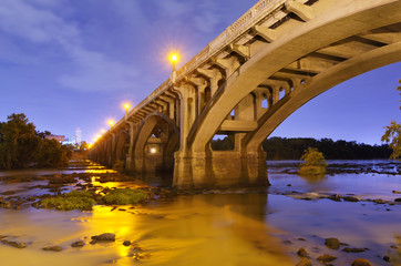 Gervais Street Bridge in Columbia, South Carolina