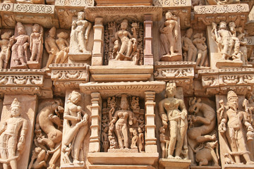 Adinath Temple in Khajuraho India