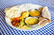 Indian food in restaurant
