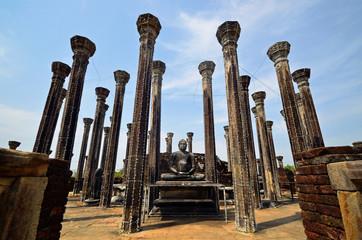 Medirigiriya Stupa House,Buddhist temple ruins in Sri Lanka