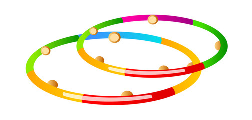 vector icon hula hoop