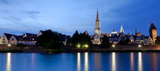 Nachtpanorama von Ulm