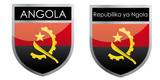 Angola flag emblem