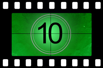Film countdown 10
