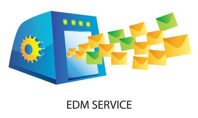 Online e-marketing - EDM system