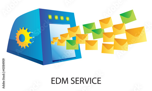 Online e-marketing - EDM system