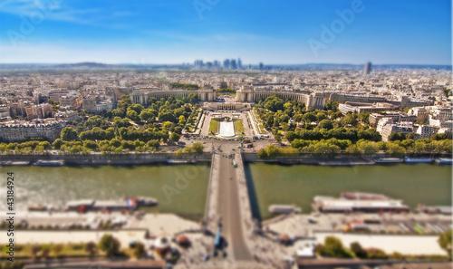 Fototapeten,seine,trocadero,landschaft,anblick