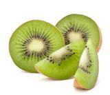 Fototapety Kiwi fruit sliced segments