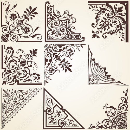 Vintage Decorative Corners