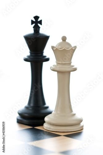 König und Dame