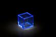 青い立方体ブロック