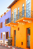Mediterranean colorful houses