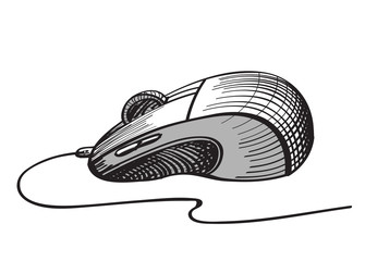 Sketch Computer mouse