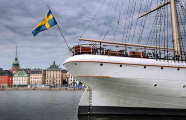 Sailing vessel.