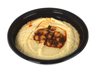 Houmous with Paprika and Chickpea Dip