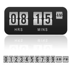 Countdown timer, clock, orologio