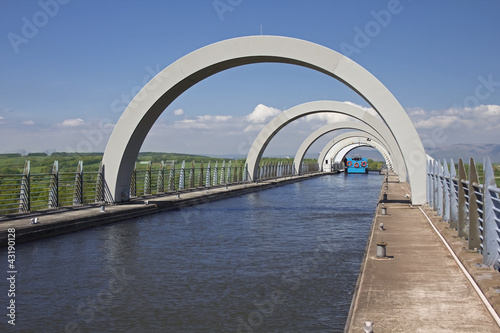Arches at Top of Falkirk Wheel
