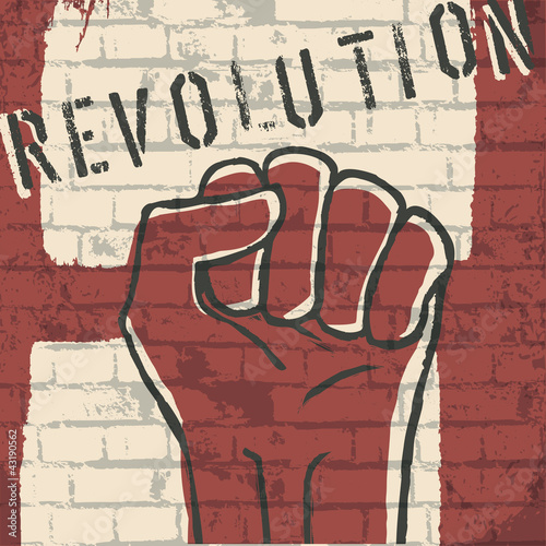 Revolution! vector illustration, EPS10 © pashabo