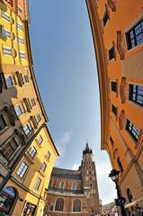 Street in Krakow, Poland