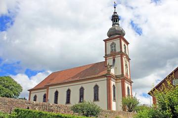 Pfarrkiche St. Bartholomäus in Hilders (Rhön, Hessen)