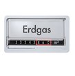 Gaszähler Erdgas