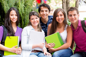 Group of students