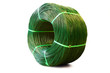 Green Plastic Coated Wire Roll