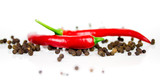 Chili und Pfeffer