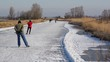Ice Skating in Holland