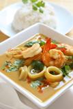 Fototapety Thai Seafood Curry