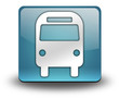 "Light Blue 3D Effect Icon ""Bus / Ground Transportation"""