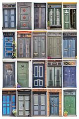 Türen in Ribe, Dänemark