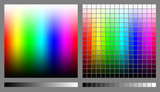 Fototapety RGB color spectrums