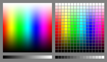 RGB color spectrums