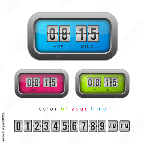Orologi colorati, Colorful Clocks