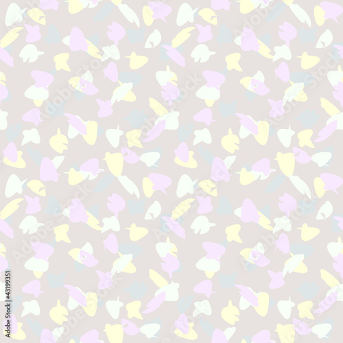 Seamless Background - Pastel Blots