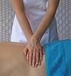 Double-handed Effleurage massage